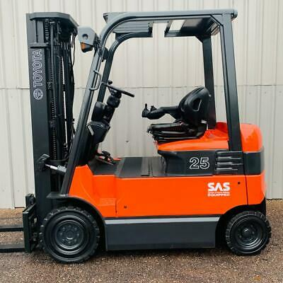 Toyota 7fbmf25 Used 4 Wheel Electric Forklift (#3124) • 9,540£