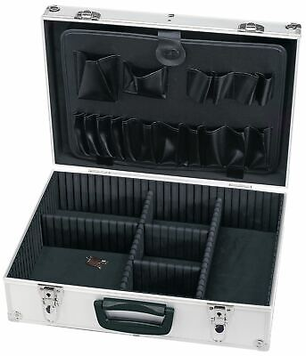 £36.99 • Buy ALUMINIUM Lined Electricians Musicians Engineers Technicians ABS Tool Case