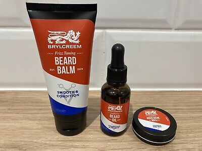 Brand New Brylcreem Beard Balm & Oil And Moustache Wax Gift Set - Valentines? • 4.99£