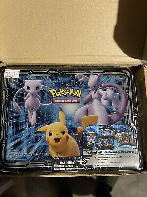SEALED 2019 Pokemon Fall Collector's Chest Charizard Armored Mewtwo SM226 SM228 • 244.99£