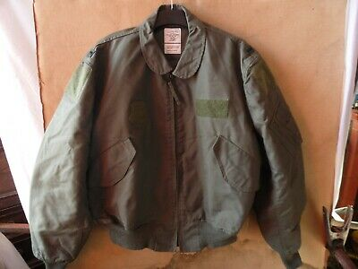 $ CDN132.31 • Buy GENUINE USAF ISSUE MENS FLYERS JACKET ~ SUMMER ~ TYPE CWU-36/P ~ Sz EXTRA LARGE