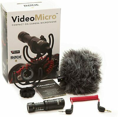 Rode VideoMicro Compact On Camera Microphone - Assorted Colors  • 69£