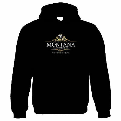 Montana Management Scarface Movie Inspired, Hoodie - 80s Gift Him Her Mum Dad • 24.99£