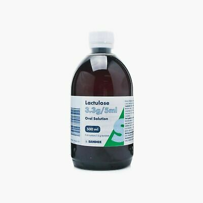 Lactulose Solution 300ml/500ml • 7.99£