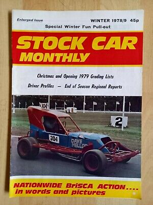 Stock Car Monthly Winter Issue 1978-79 • 1.26£