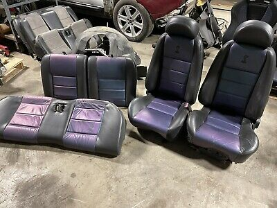 $2399 • Buy 2003-2004 Ford Mustang SVT Cobra Seats 04 Mystichrome COUPE Front Rear Set