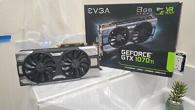 $ CDN590.83 • Buy EVGA NVIDIA GeForce GTX 1070 Ti 8GB GDDR5 Graphics Card (08GP46678KR)