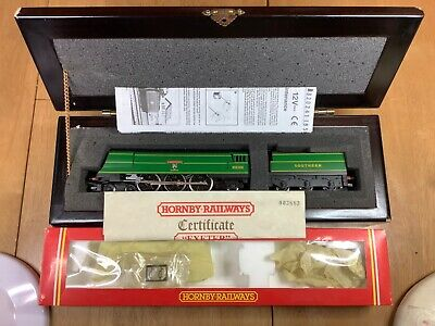 Hornby R320 SR 4-6-2 West Country 21C101 Exeter In Wood Display Case L/Edition  • 159.99£