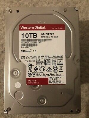 "View Details Western Digital WD Red 10TB NAS 3.5"" HDD SATA Internal Hard Drive - WD101EFAX • 209.95£"
