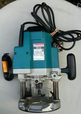 Makita 3612 Plunge Router 240v In Good Clean Working Order,  It Has Recently Had • 88£