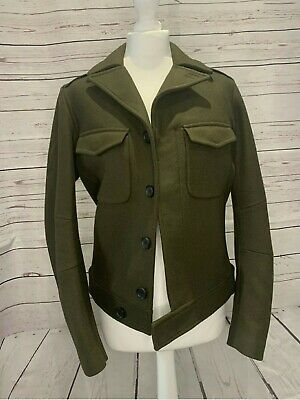 The Kooples Green Military Indie Tunic 🎸 Size Small • 110£