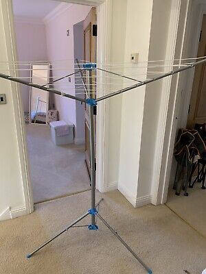 Minky Freestanding Indoor/Outdoor Airer With 15 M Drying Space, Metal, Silver • 7.99£