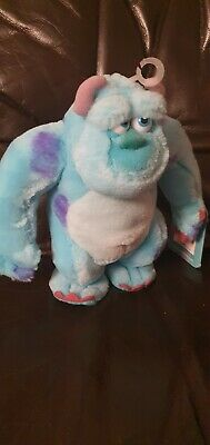 Disney 8  Sulley Monsters Inc University Sully Soft Toy Plush • 4£