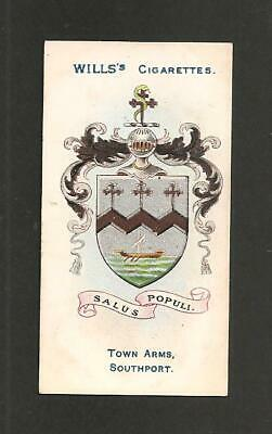 £2.95 • Buy SOUTHPORT Coat Of Arms & Motto Home To SANDGROUNDERS 1905 Original Print Card