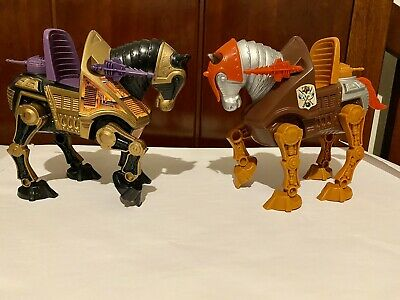$25 • Buy Masters Of The Universe War Horses, Stridor And Night Stalker, Vintage 1983