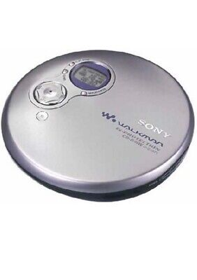Sony D-EJ751 Personal CD Player (Silver) - Vintage - Slightly Used • 7.10£