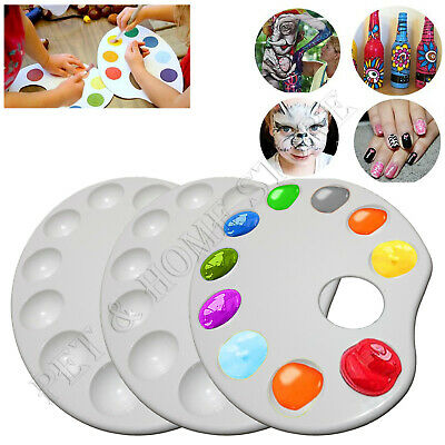 £4.99 • Buy 10 Well Paint Palette Mixing Palette Artists Acrylic Oil Paint Tray Paint Holder
