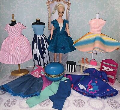$ CDN108.09 • Buy Vintage Barbie Clone Doll With Clothes & Accessories Lot