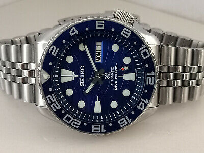 $ CDN22.25 • Buy Lovely Save The Ocean Mod Seiko 7s26-0020 Skx007 Automatic Mens Watch 766417