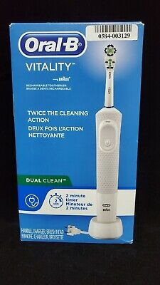 AU33.47 • Buy Oral-B Vitality Dual Action Electric Rechargeable Toothbrush