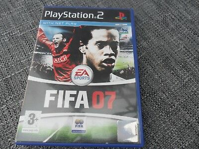Playstation 2 EA Sports FIFA  2007 With Instructions • 1.49£