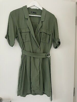 AU40 • Buy Zara Utility Wrap Dress