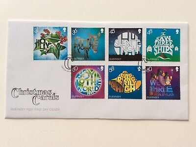 Guernsey 2010 Christmas Stamps FDC. Free Postage. • 2.90£
