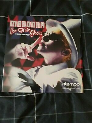 Madonna - The Girlie Show Remastered.  Live LP Near Mint. • 2.99£