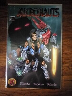 Micronauts #1 Dynamic Forces Limited Alternate • 4.99£