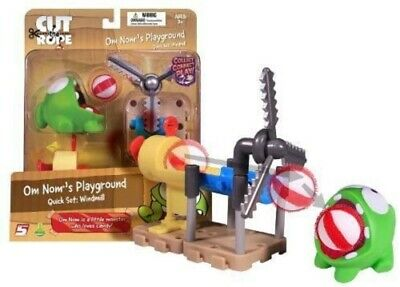 £24.99 • Buy Cut The Rope Om Nom's Playground - Quick Set: Windmill Figure Playset