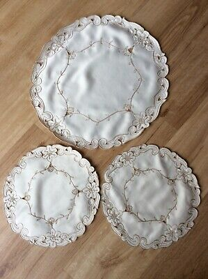 Dressing Table Mats/placemats X 3 • 3.99£