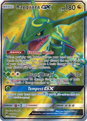 $ CDN67.09 • Buy Rayquaza GX - 160/168 - Full Art Ultra Rare - NM