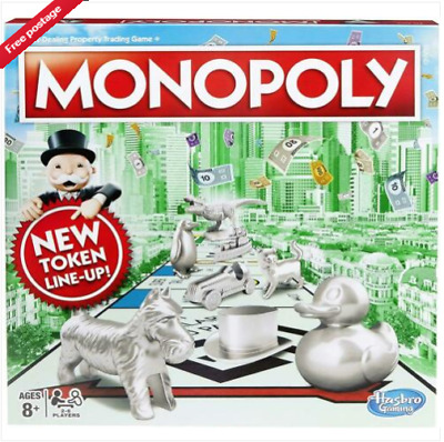 Monopoly Classic Board Game UK EDITION From Hasbro Gaming Brand New Free PostNEW • 26.99£