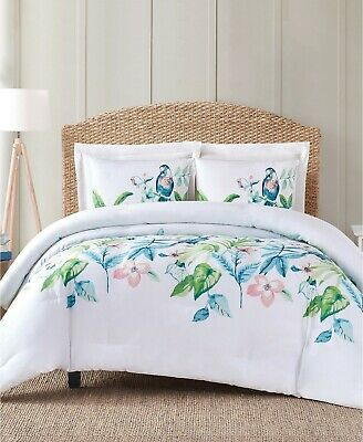 $ CDN79.75 • Buy Oceanfront Resort Tropical Bungalow 3- Pc Full/ Queen Comforter Set