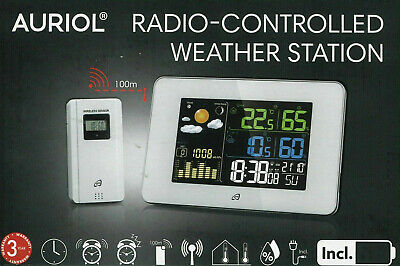 £34.99 • Buy NEW Auriol Radio-Controlled Weather Station