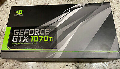 $ CDN514.59 • Buy NVIDIA GeForce GTX 1070 Ti - FE Founder's Edition 8GB GDDR5 Graphics Card...