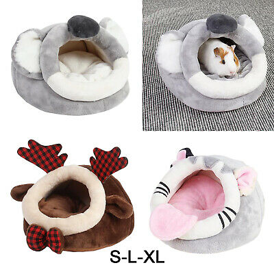 £11.97 • Buy Hedgehog Guinea Pig Bed Accessories Cage Toys Bearded Dragon House Hamster