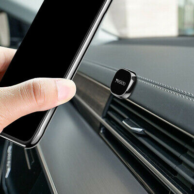 $ CDN6.23 • Buy Mini Magnetic Car Phone Holder Stand For IPhone Samsung Cell Phone Magnet Mount