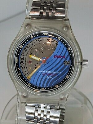 $ CDN127.17 • Buy Vintage ALBA By Seiko Spire-G Skeleton Watch Automatic 7009 Movement March 1993