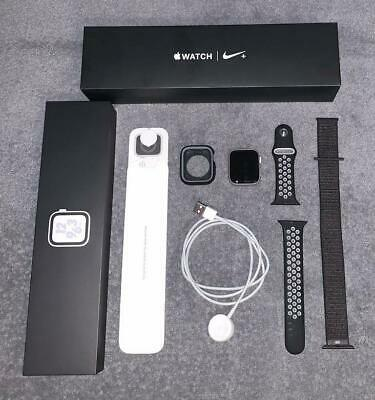 $ CDN288.04 • Buy Apple Watch Series 4 Nike+ Silver Aluminum Case 44mm 2 Bands Excellent Condition