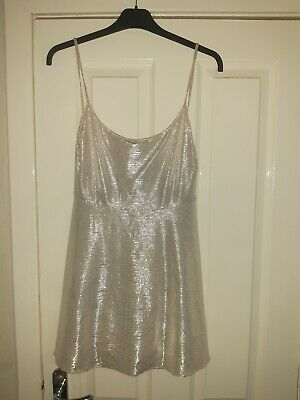 £4 • Buy Ladies Gold Top Size 14 Shiny Very Glamorous