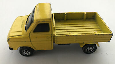 Vintage Corgi Juniors Ford Transit Pick Up Truck Diecast Yellow • 2.95£