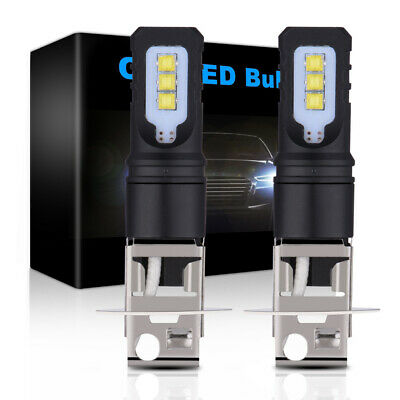AU13.07 • Buy 160W H3 LED Bulbs Fog Light Replace Halogen DRL Day Running Lamp 12-24V LD2180