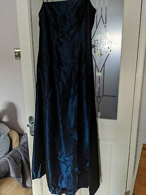 Blue Party Dress Size 10 By Monsoon  • 2.90£