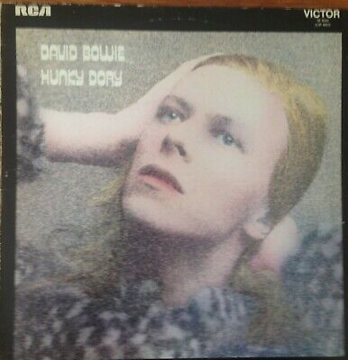David Bowie -hunky Dory 12  Vinyl Lp 1971 Pressing In Excellent Condition • 15£