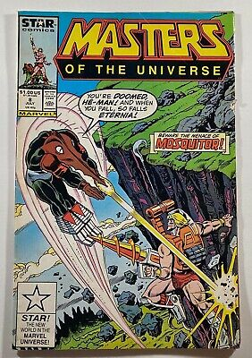 $19.99 • Buy Masters Of The Universe #8 He-Man Mosquitor Snake Face 1987 Marvel Star Comics
