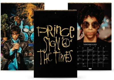 PRINCE-Sign O' The Times CALENDAR / BOOK (JEFF KATZ) Limited Edition SEALED • 59.46£