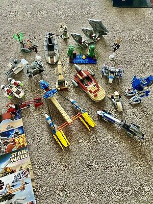 Lego Star Wars Bundle / Job Lot. Instructions And Stickers Included • 40£