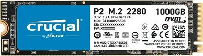 £96.81 • Buy Crucial P2 M.2-2280 1TB PCI Express 3.0 X4 NVMe Solid State Drive