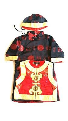 £35 • Buy Chinese New Year Boy's Emperor Costume Silky Fabric